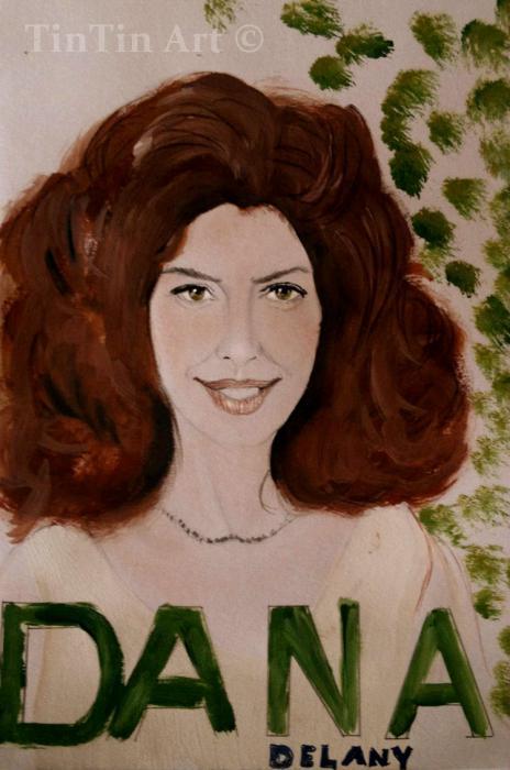 Dana Delany by tikaninua